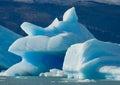 Icebergs in the water, the glacier Perito Moreno. Argentina. Royalty Free Stock Photo