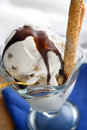 Icecream sundae Stock Photo