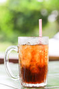 Iced cola coca drink in glass Royalty Free Stock Photography