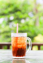 Iced cola coca drink in glass Stock Image