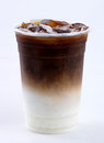 Iced latte Royalty Free Stock Photo