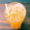 Iced tea old vintage retro style Stock Photography