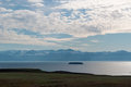 Iceland, Northern Europe, Myvatn, lake, volcano, Hverfjall, landscape, nature reserve Royalty Free Stock Photo