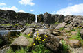 Iceland thingvellir Obraz Royalty Free