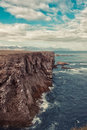 Icelandic coast Royalty Free Stock Photos