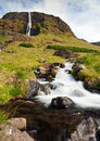 Icelandic waterfall Stock Image
