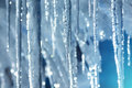 Icicles. Royalty Free Stock Photo