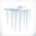 Icicles Vector Object