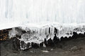 Icicles and water flow
