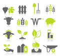 Icon agriculture Royalty Free Stock Photo