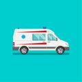 Icon of an ambulance