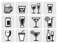Icon beverage Royalty Free Stock Photos