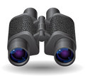 Icon for binoculars Royalty Free Stock Photo