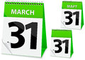 Icon calendar for Easter Royalty Free Stock Image
