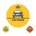 Icon car wash Royalty Free Stock Photo