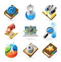 Icon concepts for technology Stock Photo