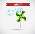 Icon design for windy