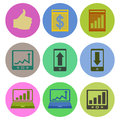 Icon designs a set of for graphic element use Royalty Free Stock Images