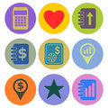 Icon designs a set of for graphic element use Royalty Free Stock Image