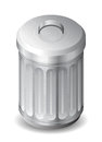 Icon for garbage can Royalty Free Stock Images