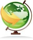 Icon Globe Royalty Free Stock Images