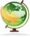 Icon Globe Stock Photo