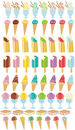 Icon ice cream Royalty Free Stock Images