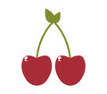 Icon illustrated cherries