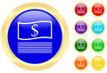 Icon of money Royalty Free Stock Photography
