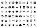 Icon pictogram set