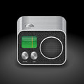 Icon for radio high detailed vector saved as eps contains objects with transparency Stock Images