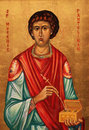 Icon of Saint Pantaleon Royalty Free Stock Image