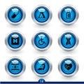 Icon series 14 - medical Royalty Free Stock Photo