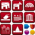 Icon series: politics Royalty Free Stock Image