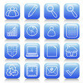 Icon set Royalty Free Stock Image