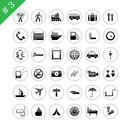 Icon set #3 Royalty Free Stock Photo