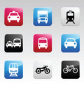 Icon set color #2 Royalty Free Stock Photo