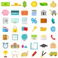 Icon set easy to edit vector illustration of for business education and financial Stock Photo
