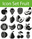 Icon Set Fruit
