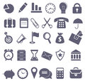 Icon set gray for you design Royalty Free Stock Photo