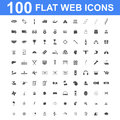 Icon set, Universal website, Construction, industry, Business, Medical, healthy and ecology icons. Royalty Free Stock Photo