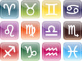 Icon signs of the zodiac Royalty Free Stock Image