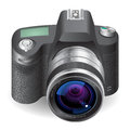 Icon for SLR camera Stock Photo