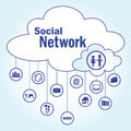 The icon for the social network.