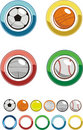 Icon - Sport ball Royalty Free Stock Image