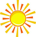 Icon sun Stock Photos