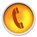Icon, telephone, phone, cable, electronic, equipment, office, button, telecommunication Royalty Free Stock Photo