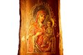 Icon of Virgin Mary and Jesus Christ Royalty Free Stock Photo