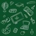 Icona di graduazione e della