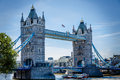 Iconic bridges of the world tower bridge built – is a combined bascule and suspension bridge in london which crosses river Royalty Free Stock Images